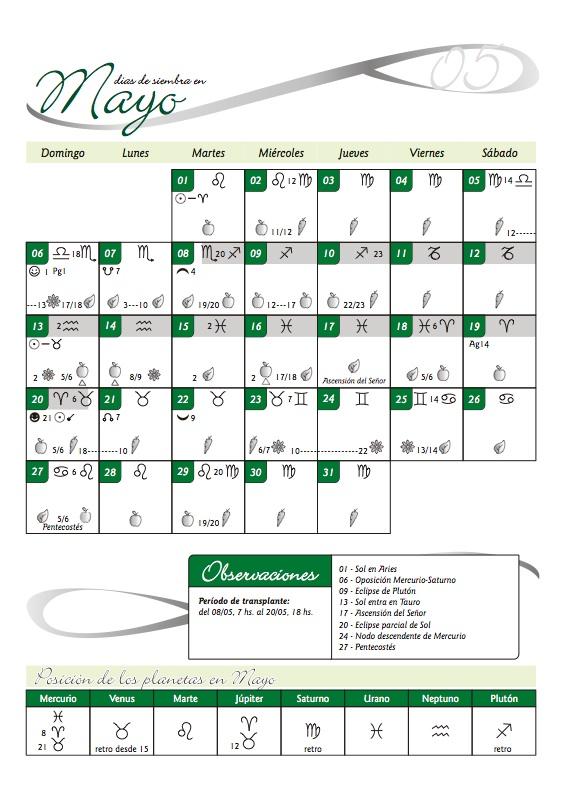 Calendario Biodinamico 2012 Pelo