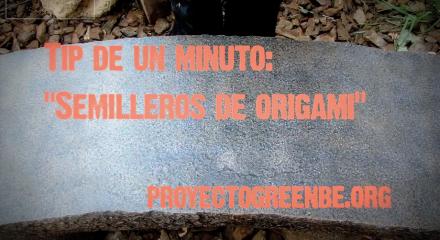 Podcast: tip de 1 minuto semilleros de origami