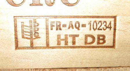 Tratamiento térmico en madera para embalaje